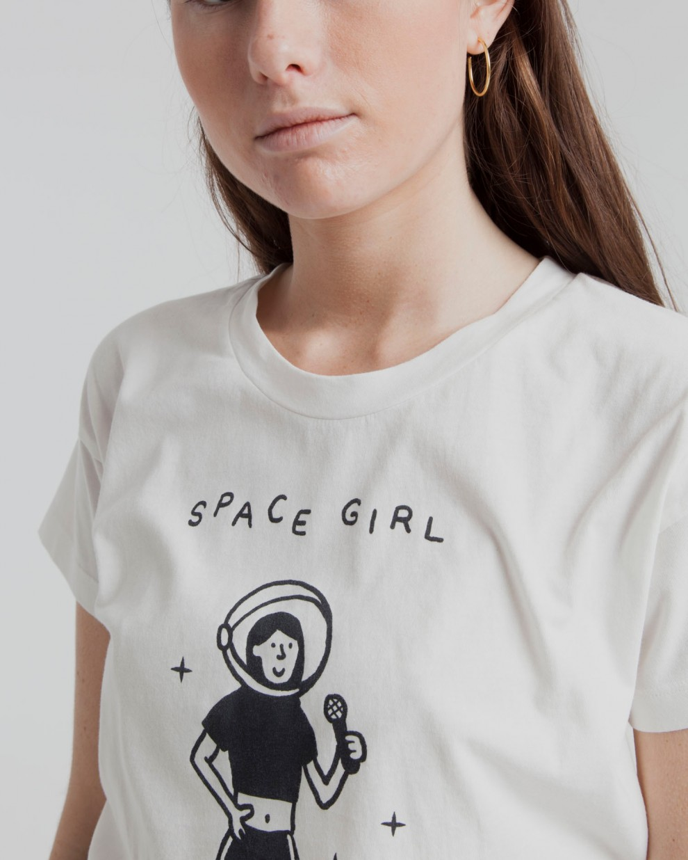 Space  Girl T-shirt - Mandanga