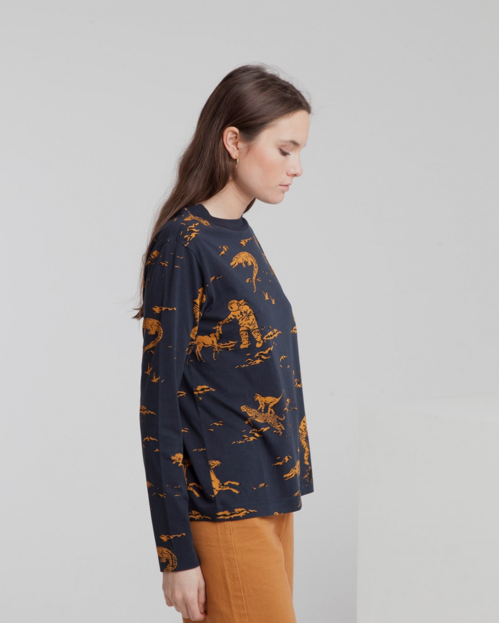 Space Rider L/S T-Shirt