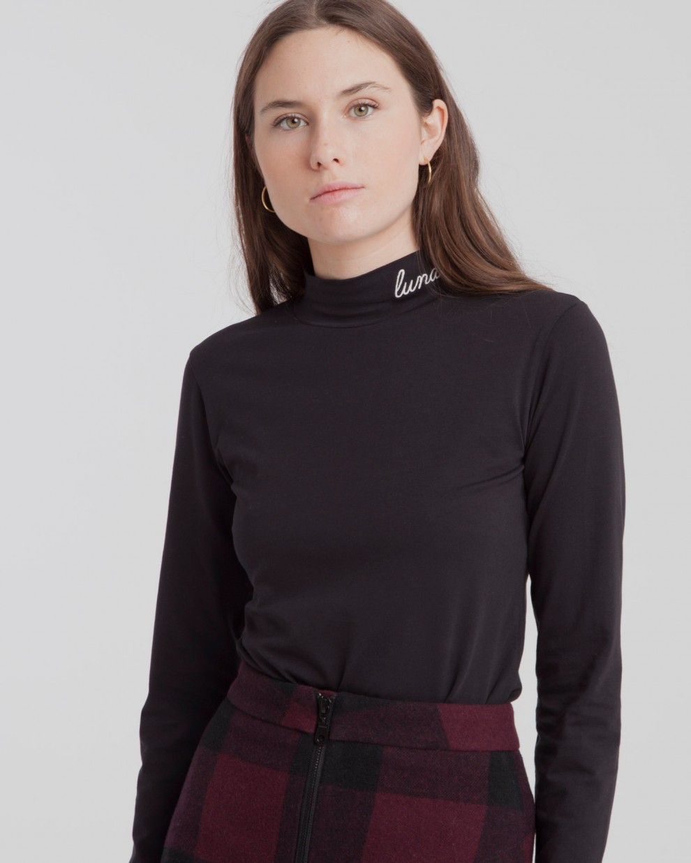 Lunatic Turtleneck Top