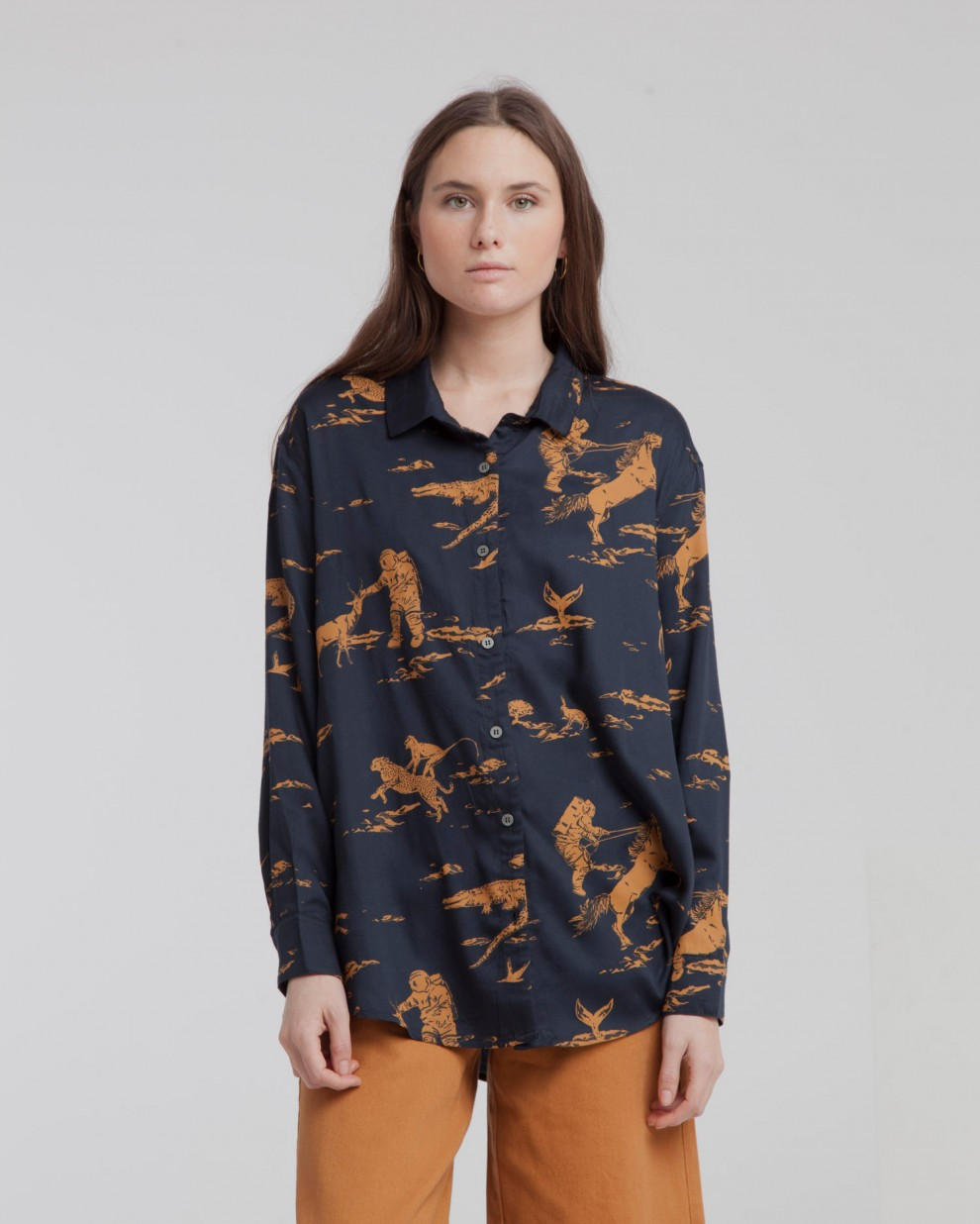 Camisa Kati Total Eclipse Space Rider