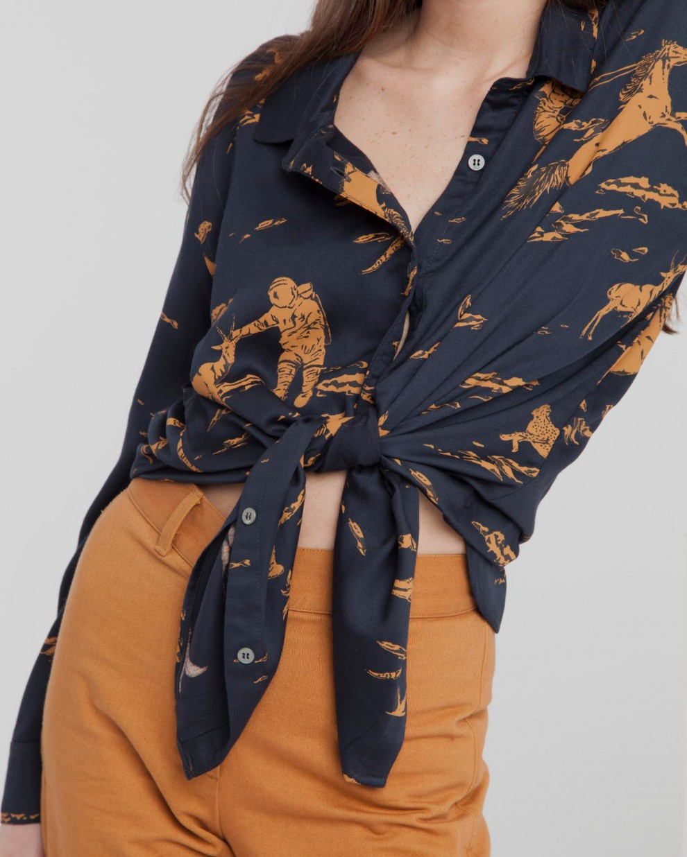 Total Eclipse Space Rider Kati Blouse