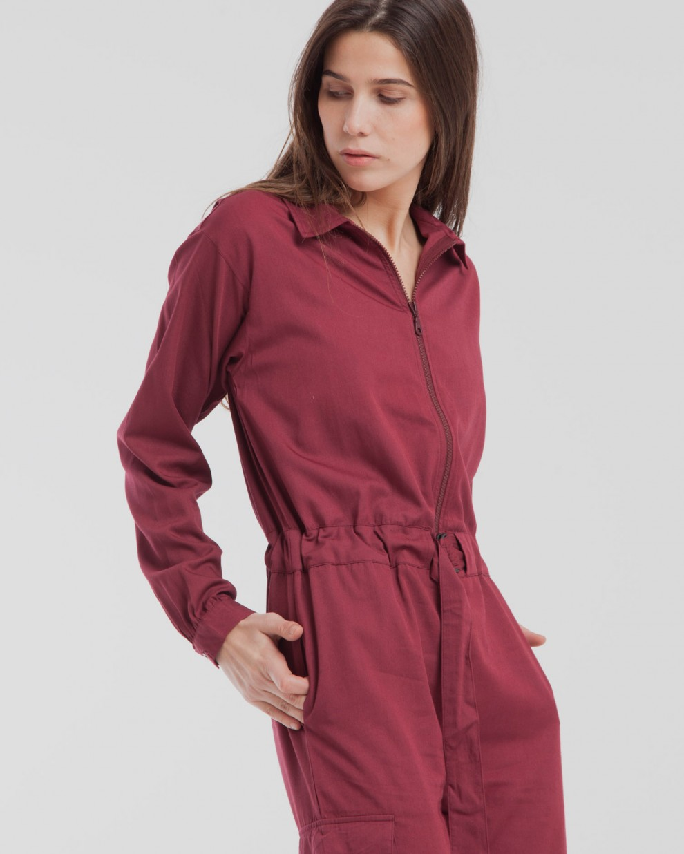 Chocolate Tomboy Jumpsuit
