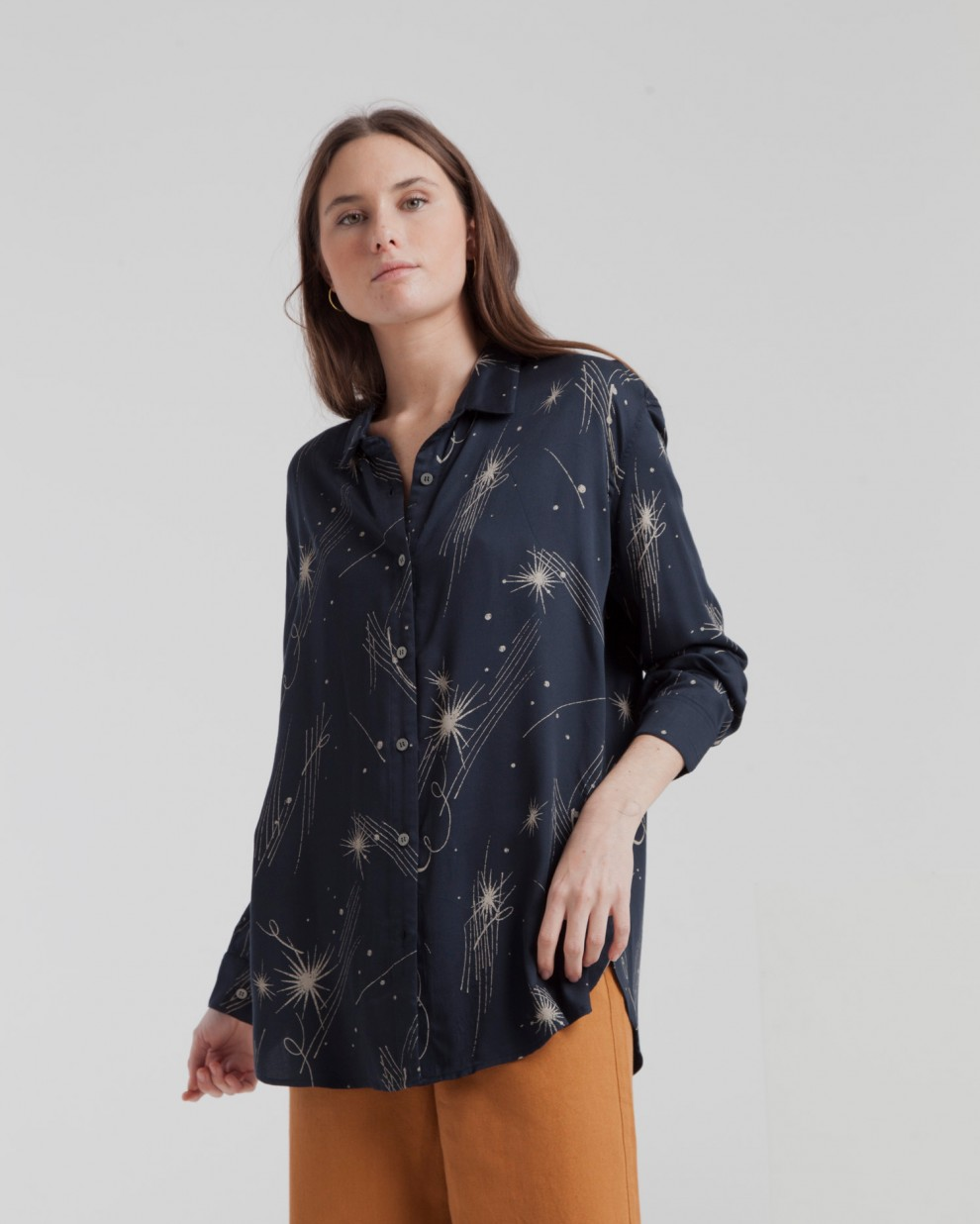 Total Eclipse Milky Way Kati Blouse
