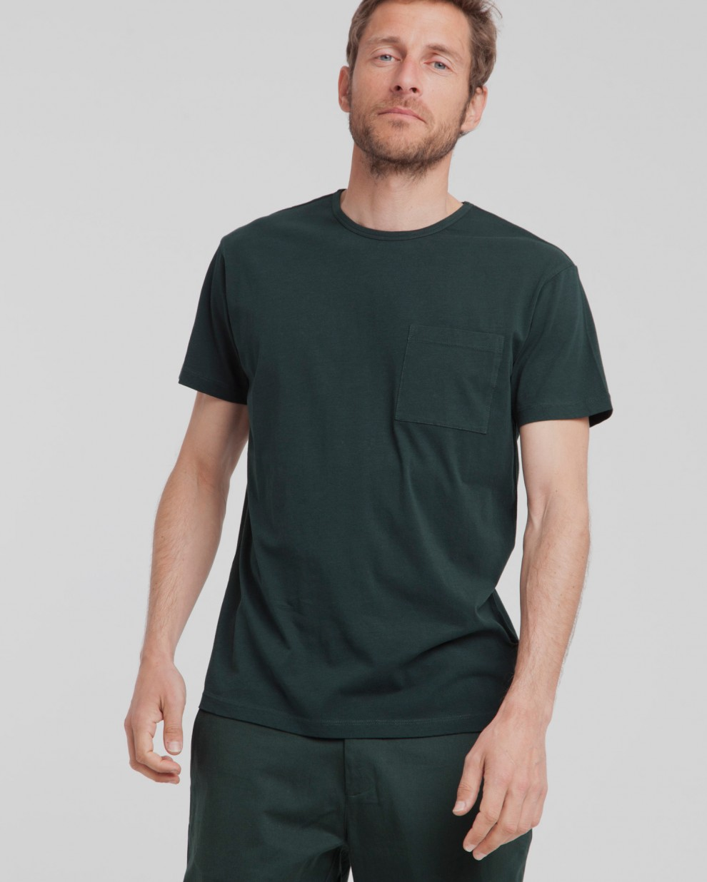 Camiseta Scarab Green Pocket