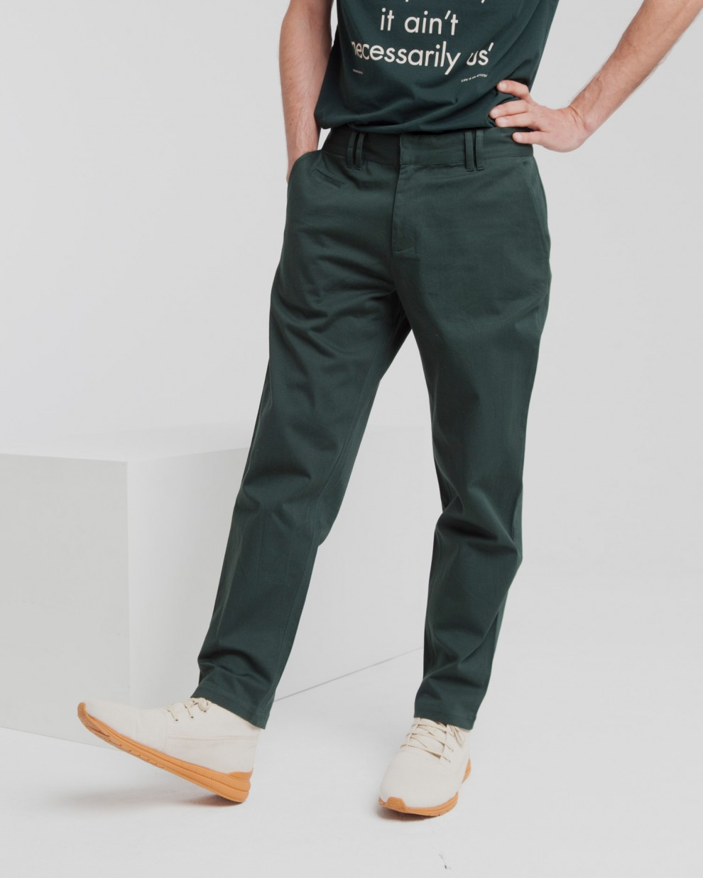 Scarab Green Marcel Pant