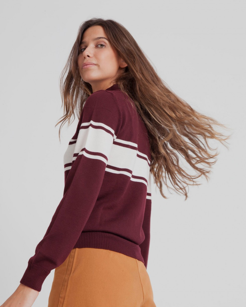 Chocolate Truffle Turtle Neck Sweater