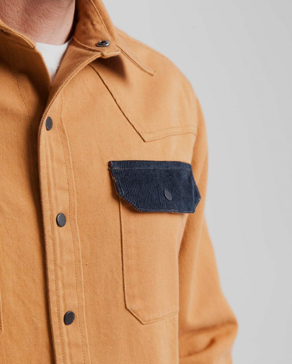 Brown Sugar Young Overshirt