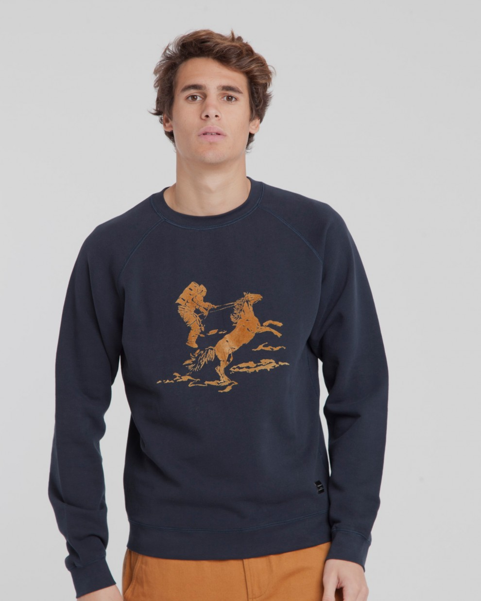 Space Rider Raglán  Sweatshirt