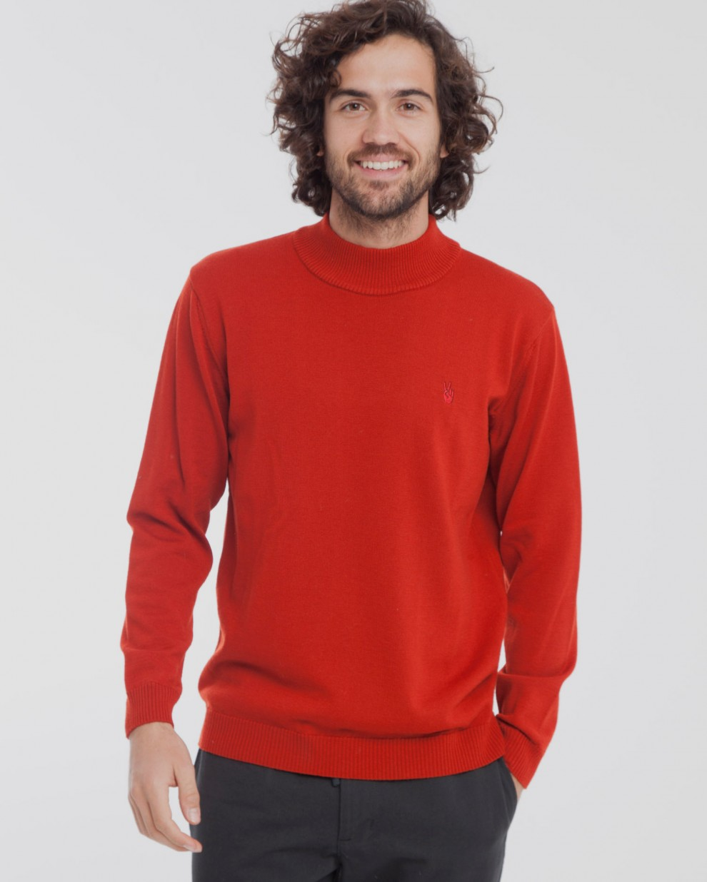 Jersey Merino Second Skin Red