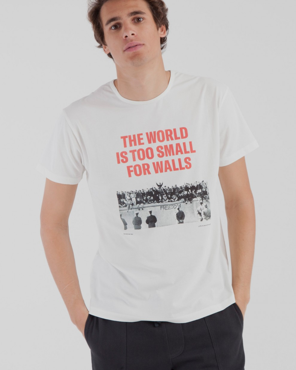 Camiseta No Walls Berlín