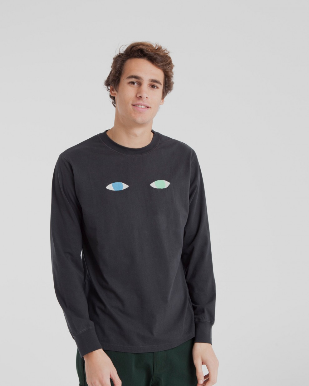 Wolf Eyes Long Sleeve T-Shirt