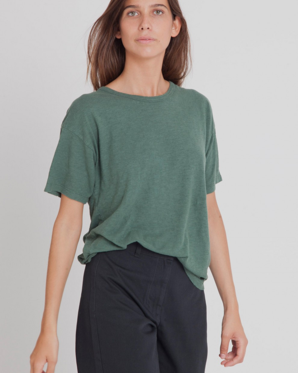Camiseta Hemp Pine Green