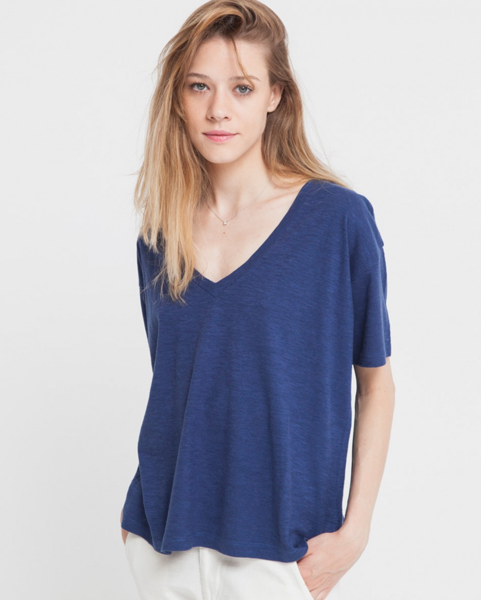Camiseta Hemp Chloe Blue