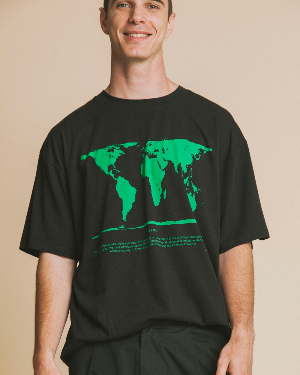 Peter's map T-shirt