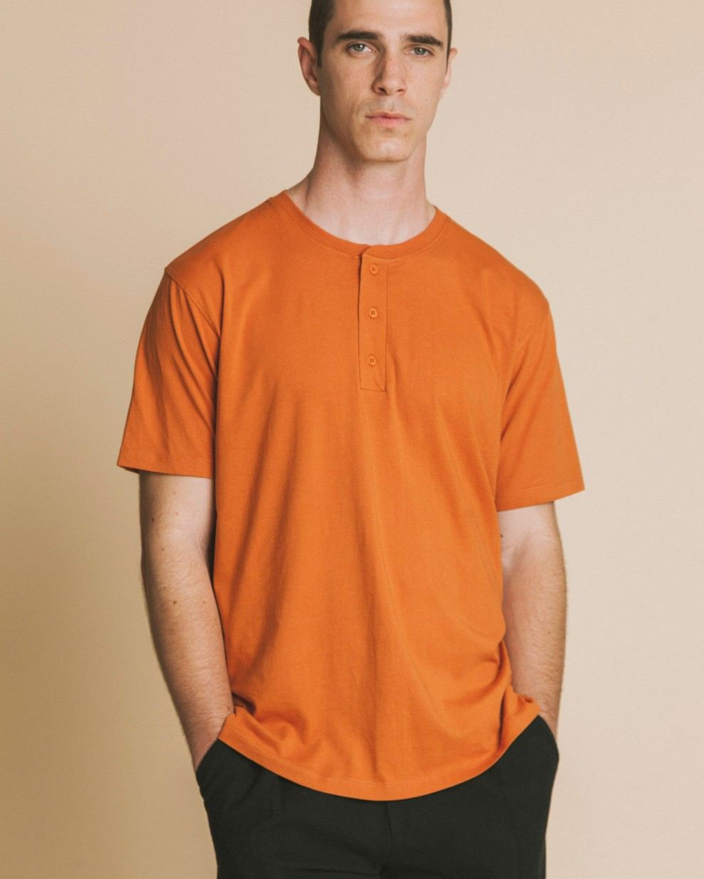 Brad terracota t-shirt