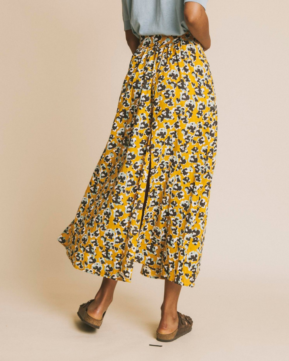 Abstract flowers Molopo skirt