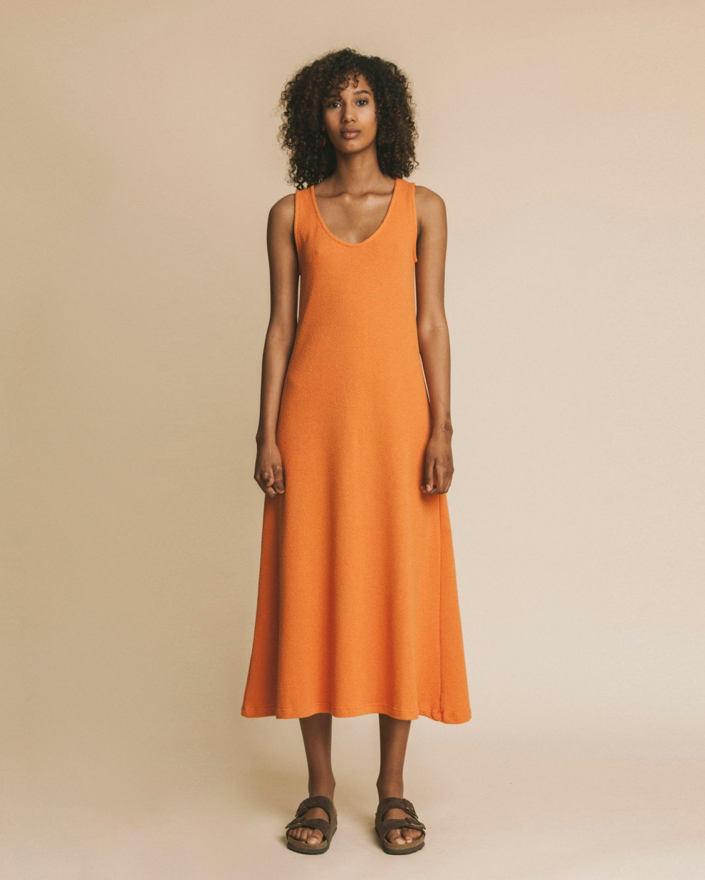 Terracotta Ladgo dress