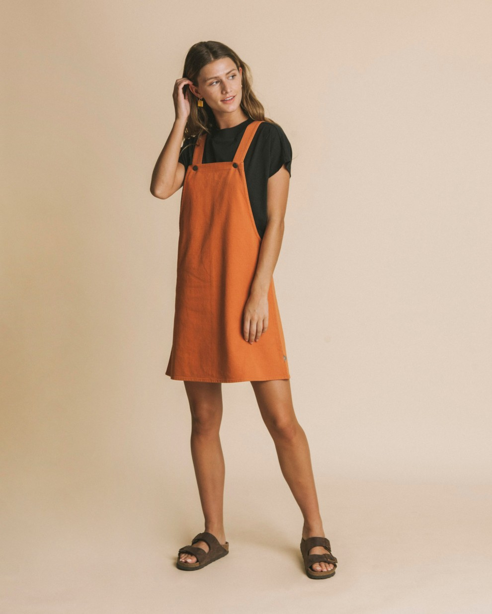Terracotta Amelie dress