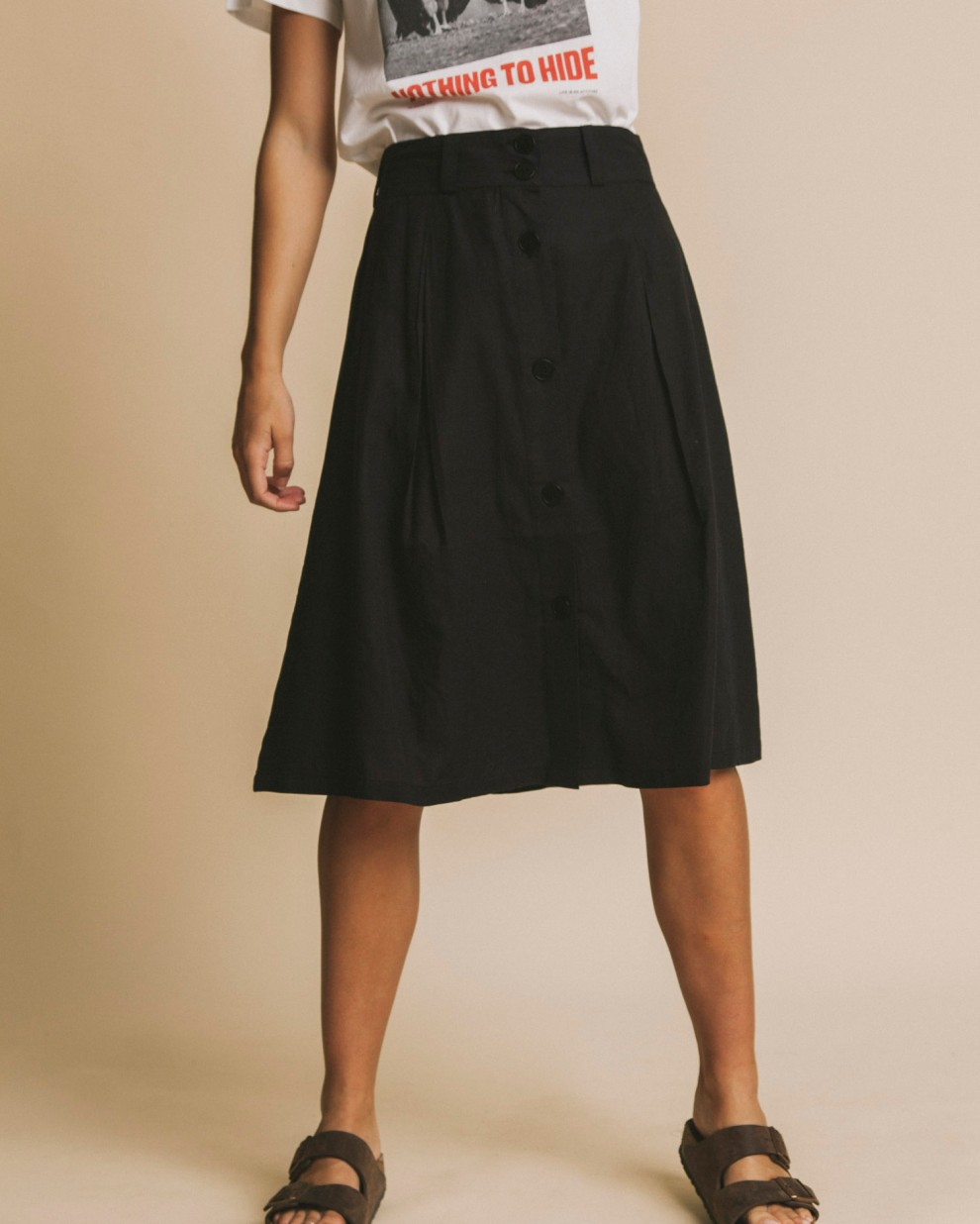 Black Tugela skirt