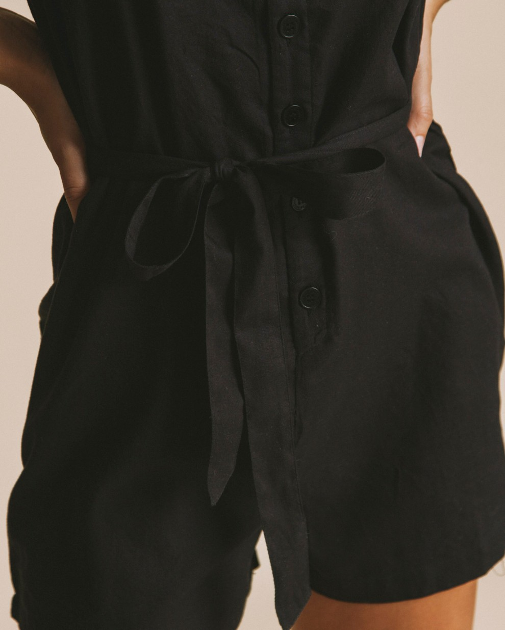 Black Lilly jumpsuit