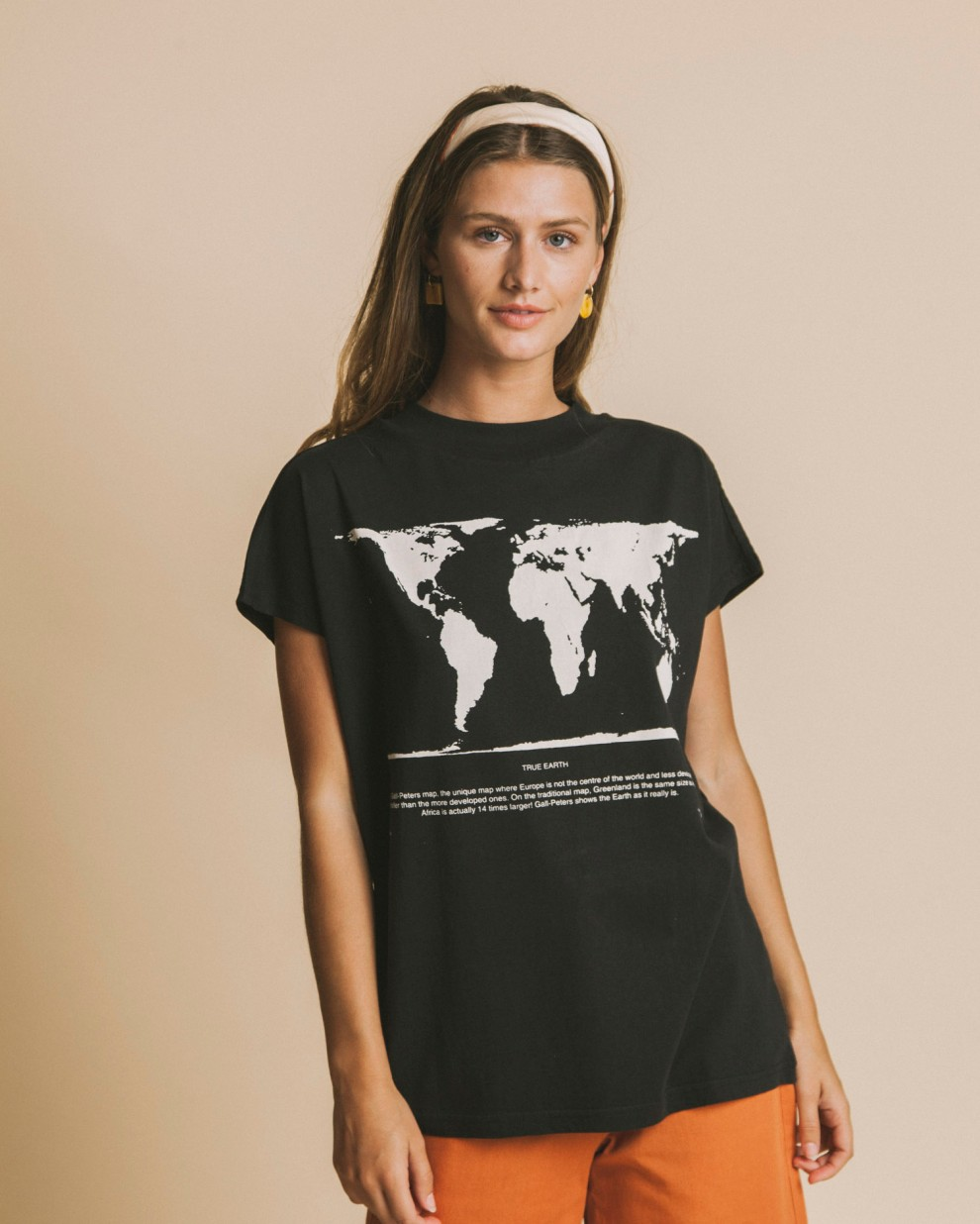 Peter's map volta t-shirt