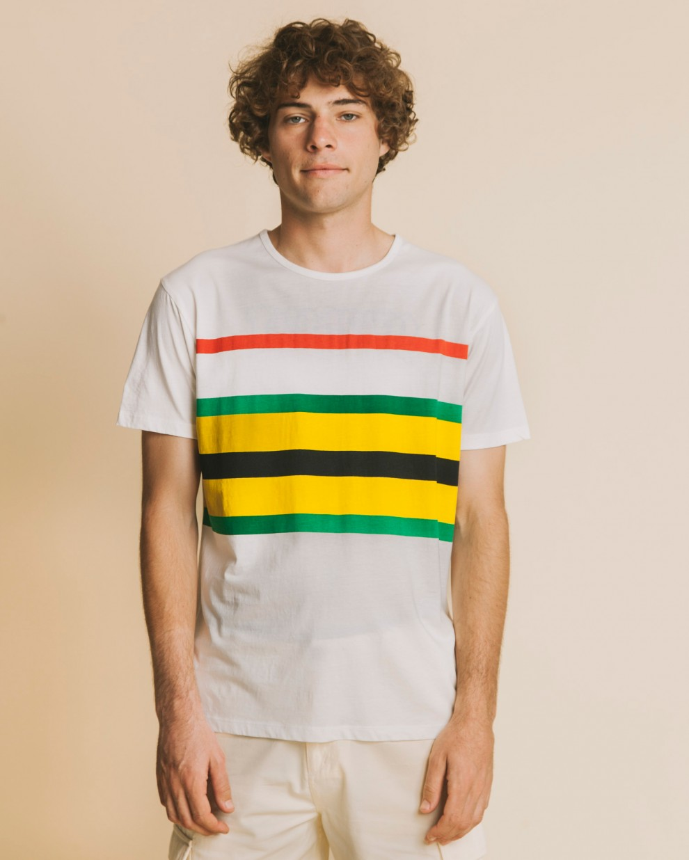 Senegal stripes t-shirt
