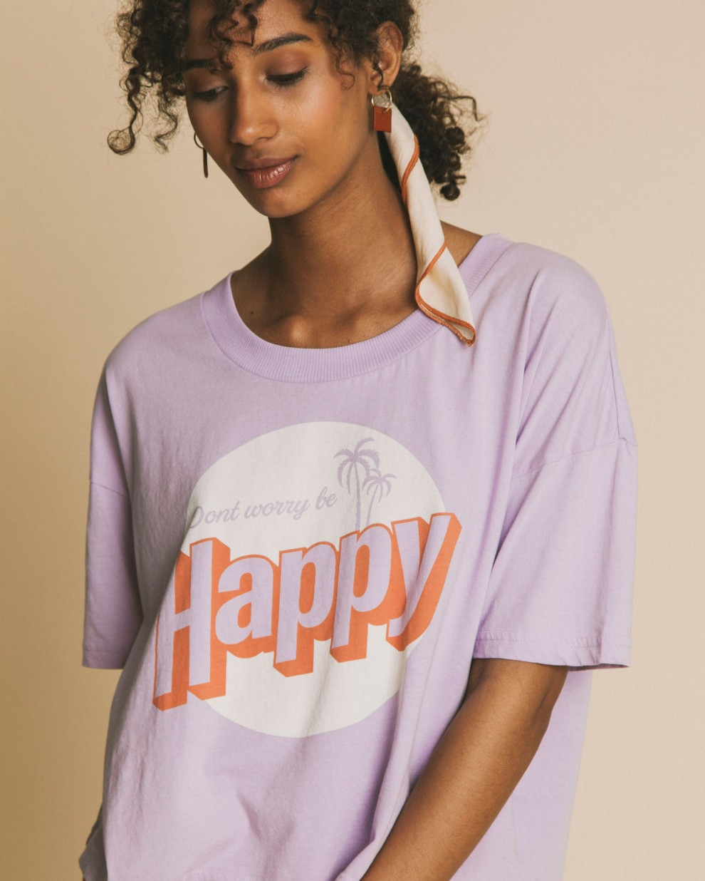 Happy Ivy cropped t-shirt
