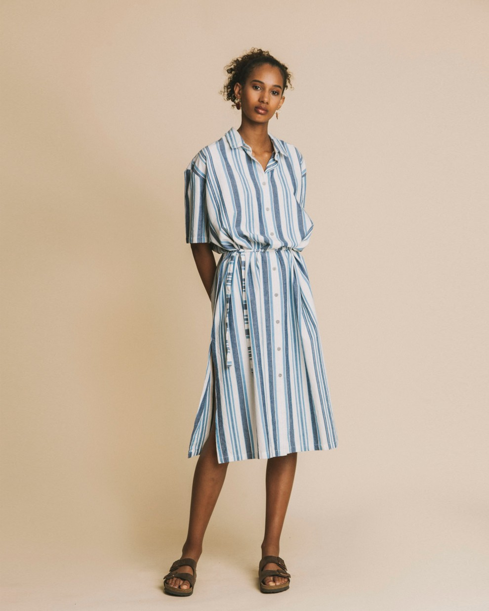 Blue stripes Mandy dress