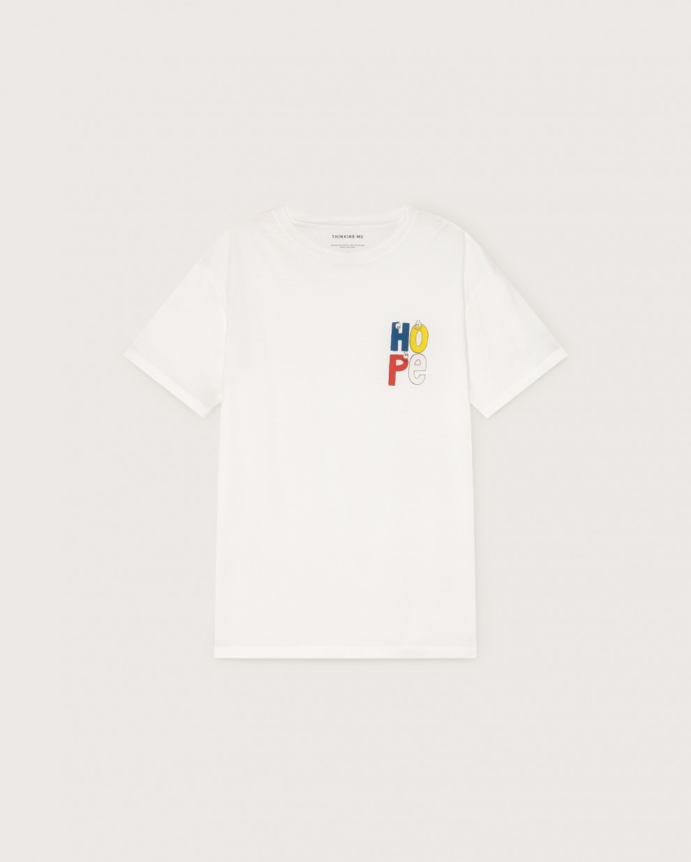 Camiseta Hope white