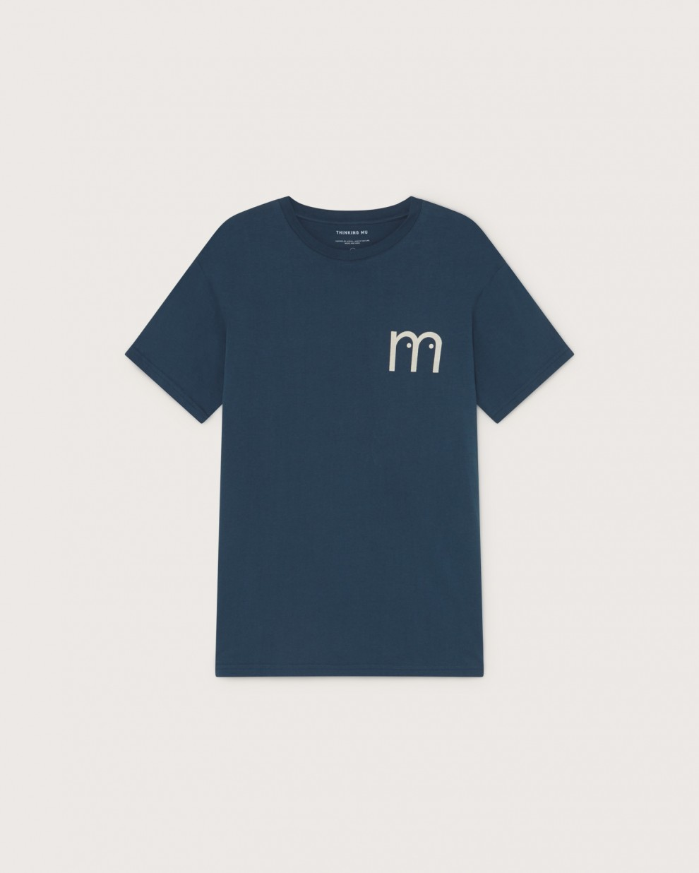 M Eyes blue t-shirt