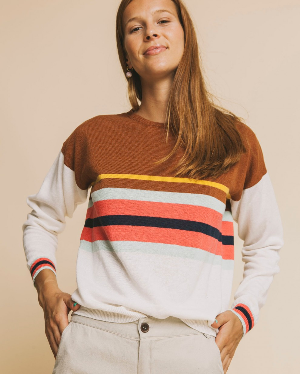 Sand Shebelle sweater