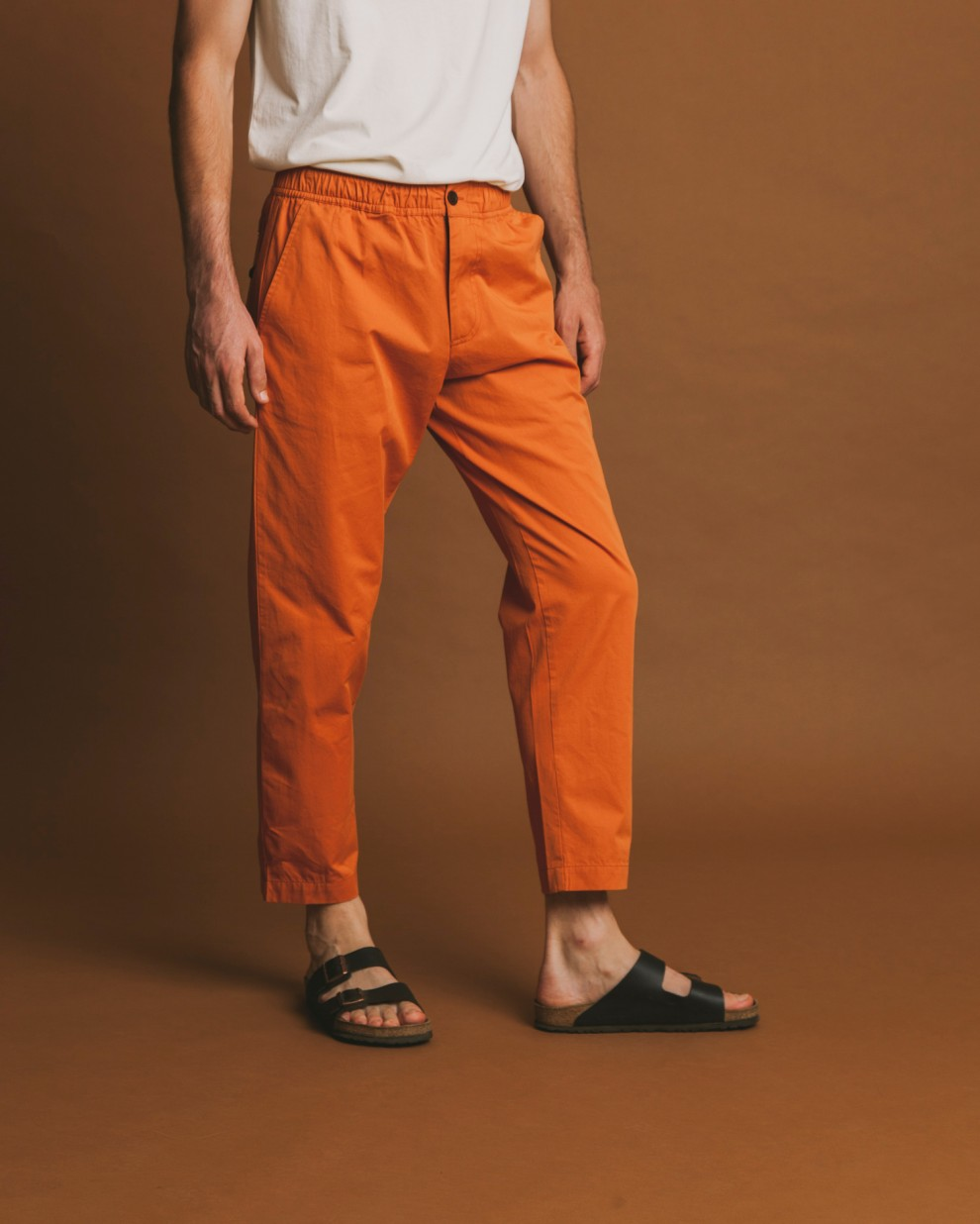 Terracotta travel pant