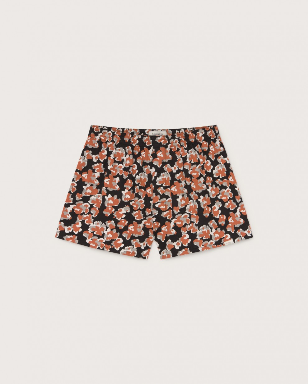 Abstract flowers boxer