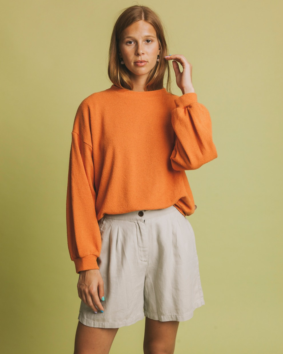 Terracotta Chilwa sweatshirt