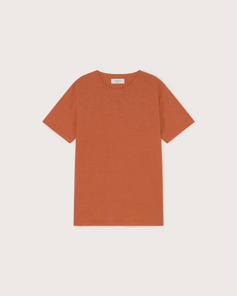 TERRACOTTA HEMP T-SHIRT