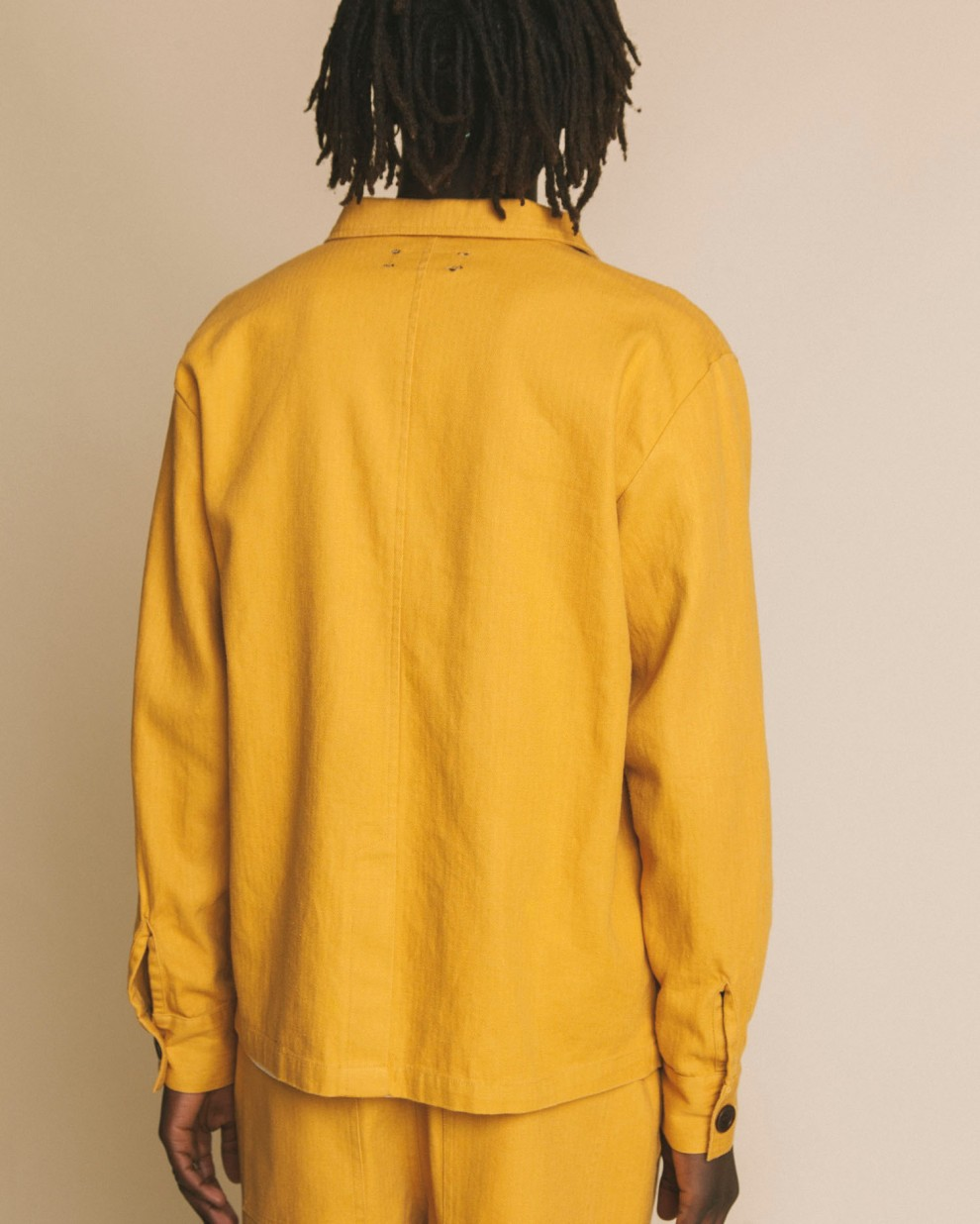 Mustard hemp James jacket
