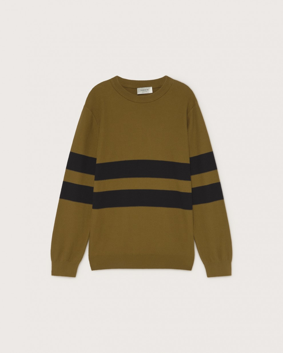 Olive green Moa knitted sweater