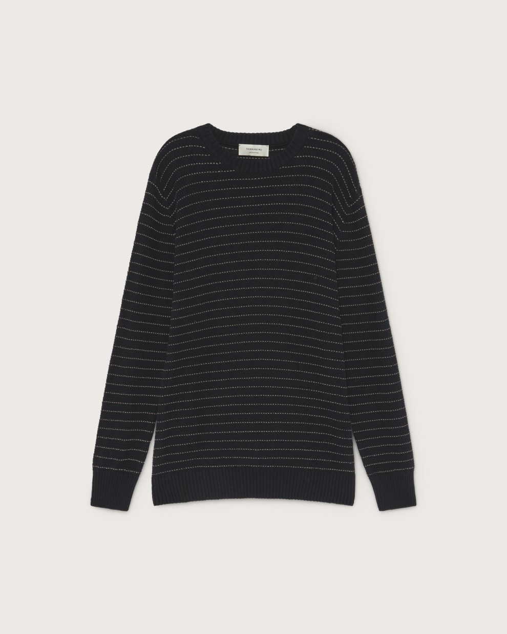 Blue Miki knitted sweater