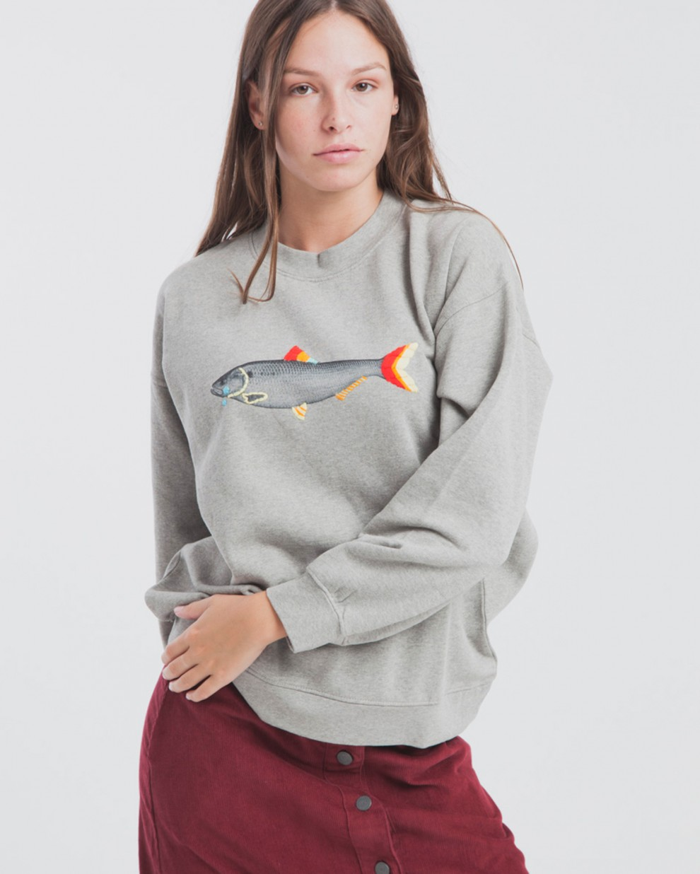 Sudadera Sad Fish Villana Art