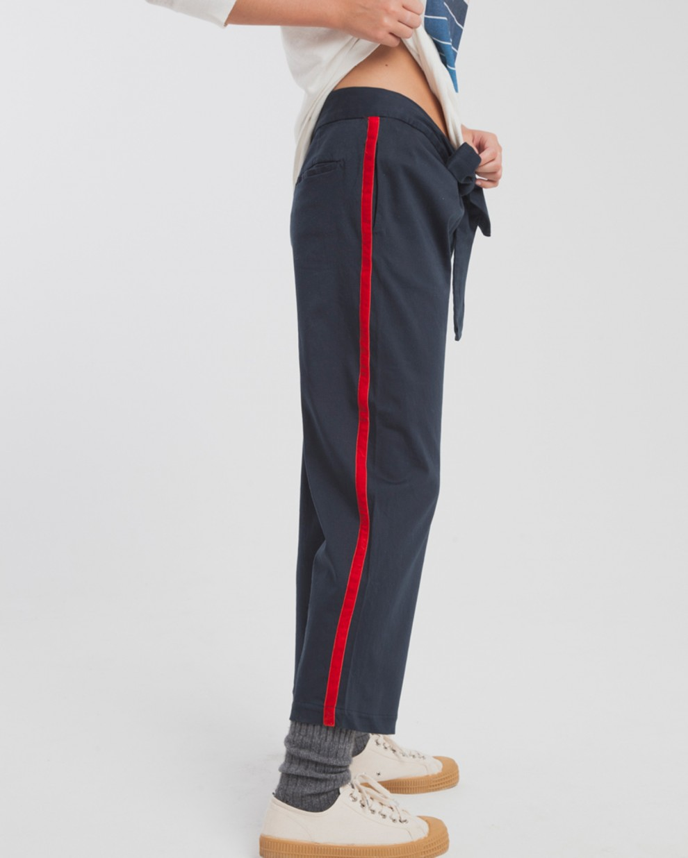 Blue Lateral Lines Thai Pant