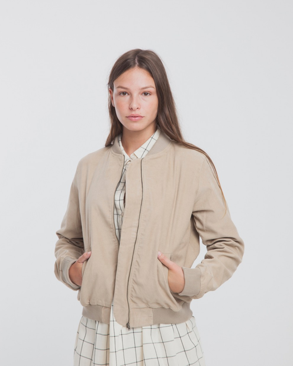 Bomber Pana Brown Jacket