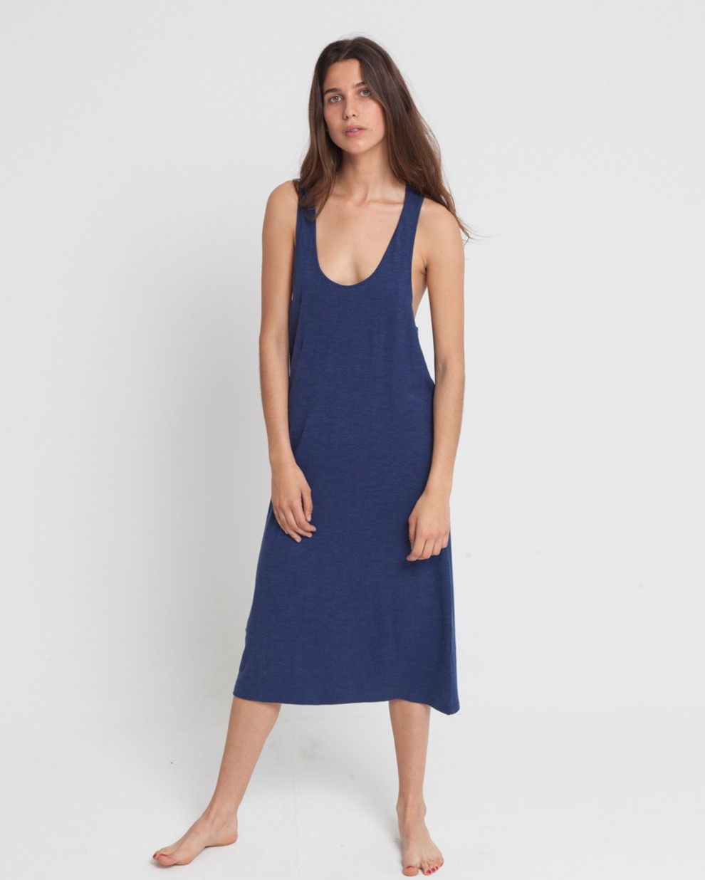 Vestido Hemp Lazy Blue