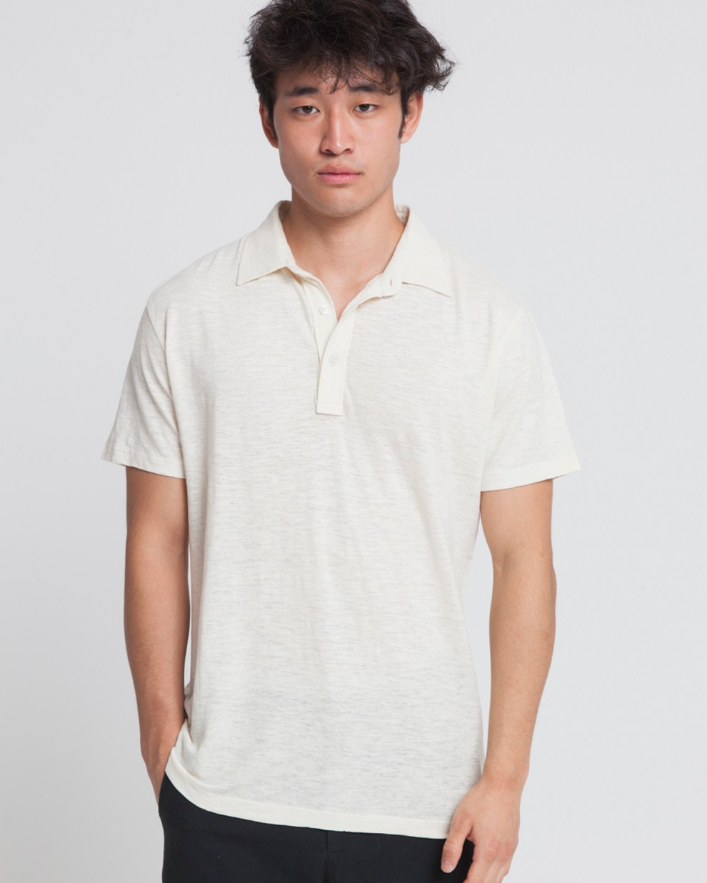 Polo Hemp Ecru