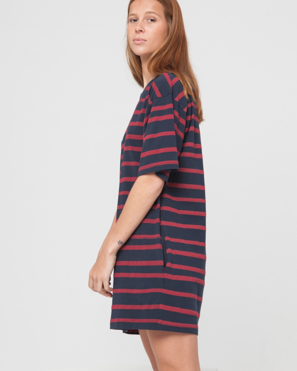 Vestido Aquarella Stripes