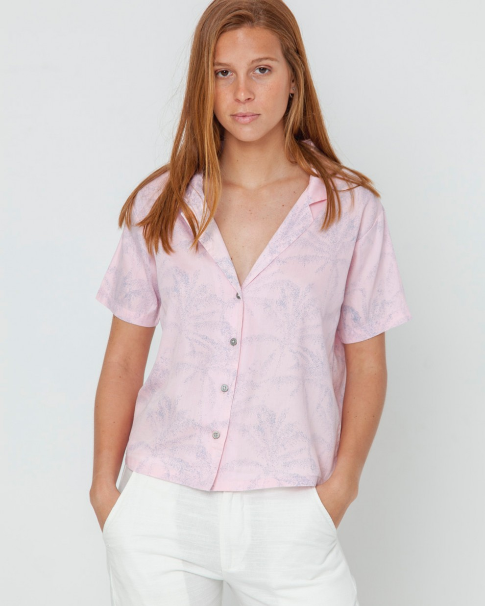 Blouse Elise Shorty Palmeras