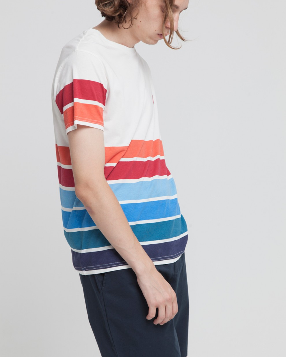6 lines 6 colors Tee