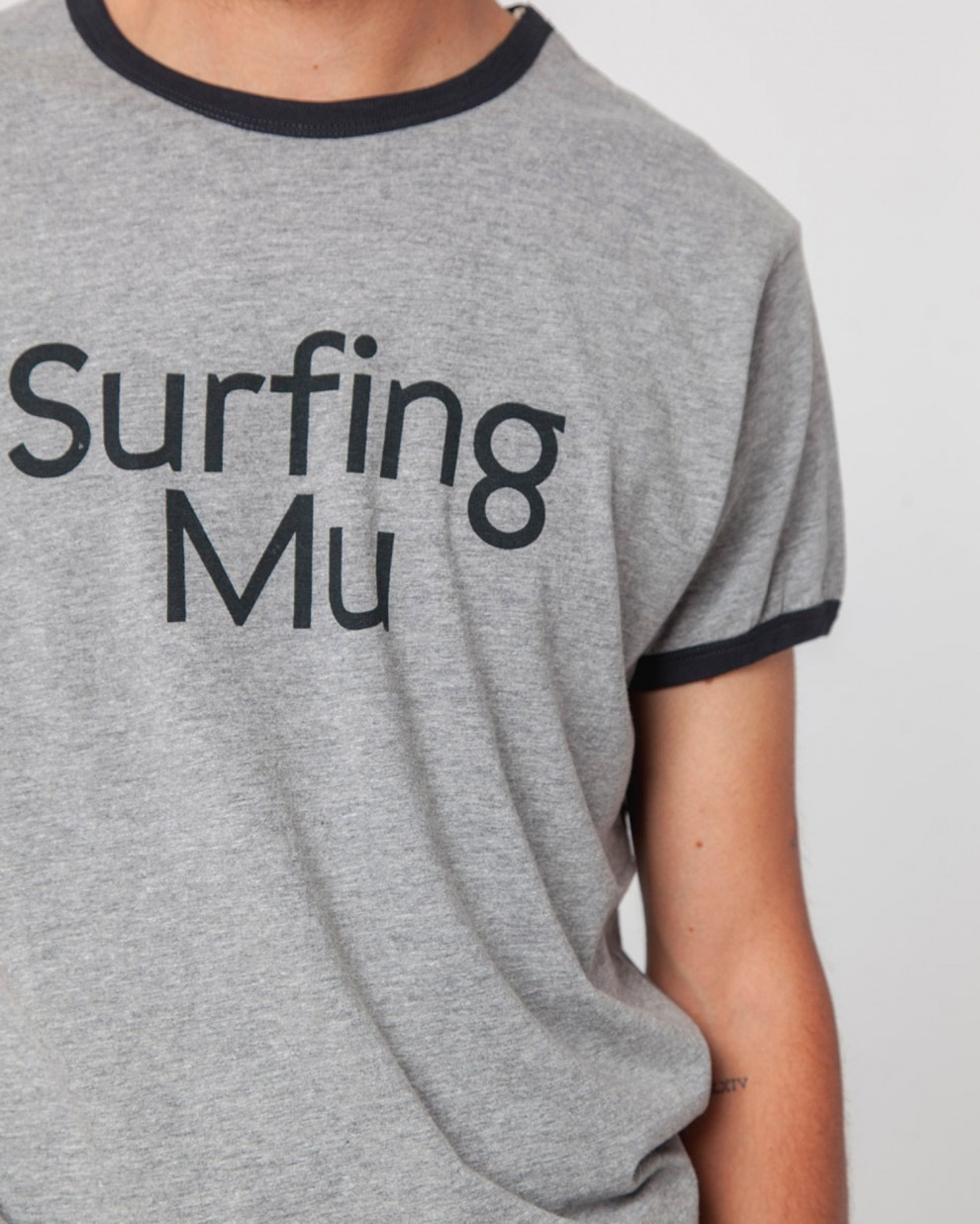Surfing MU Retro Tee