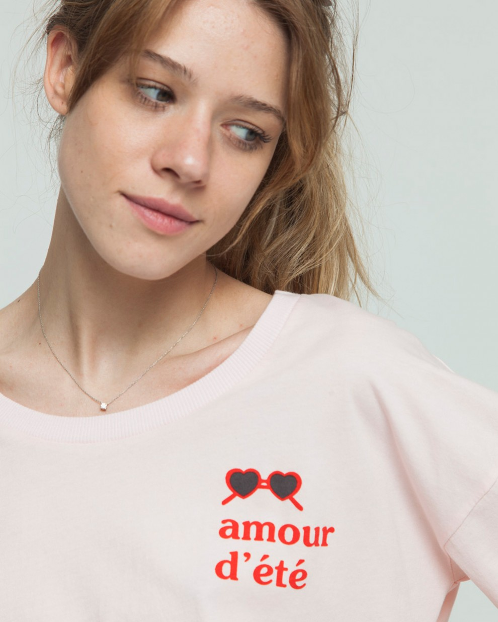 Camiseta Ivy Cropped Amour D'ete