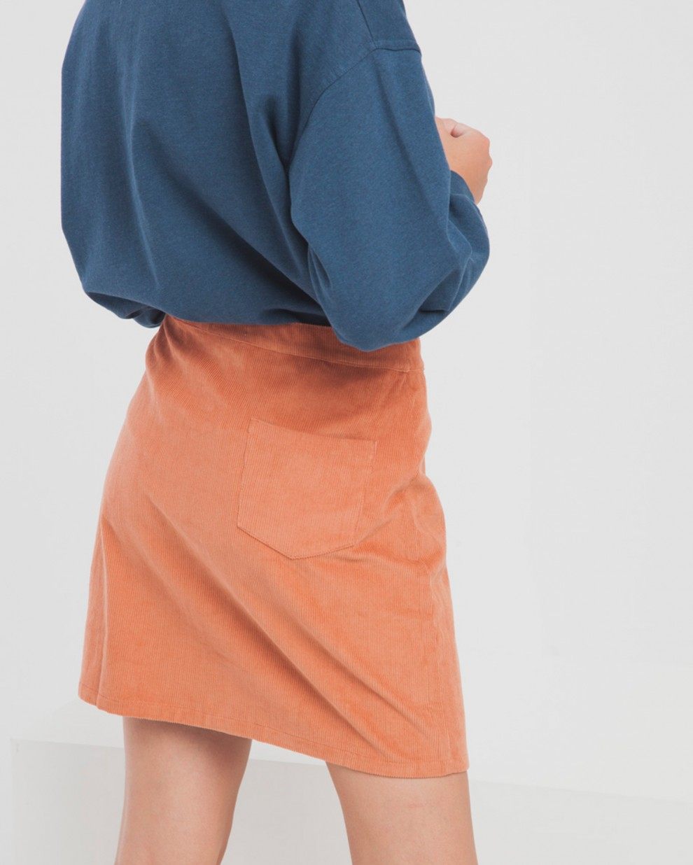 Sunburn Corduroy Short Skirt