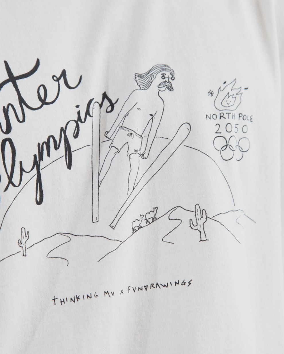 Olimpic Winter Games Fundrawings Tee
